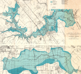 Clear Lake Flood Map 1972