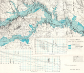 Spring and Willow Creeks Flood Map 1972