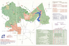 Harris County Precinct 4 Map 1997 - 1998
