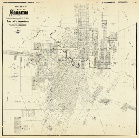 Office map of the city of Houston 1890
